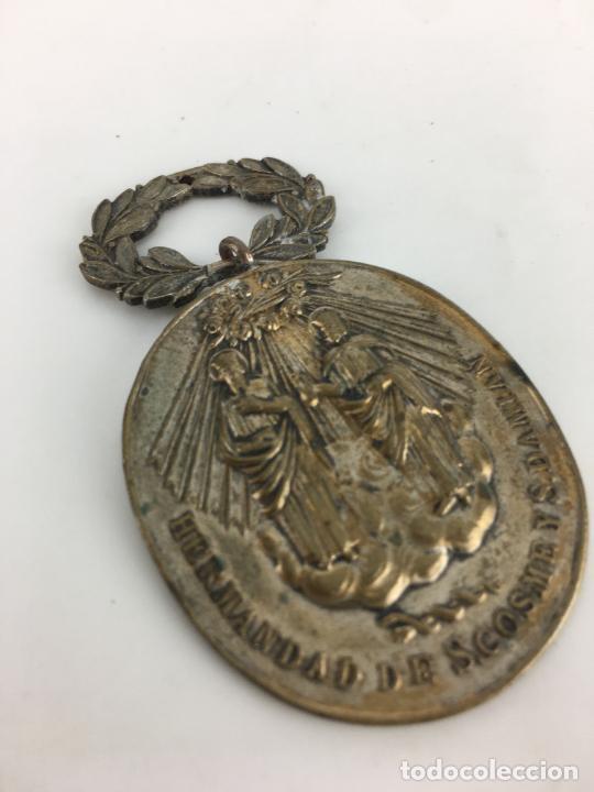 MEDALLA HERMANDAD S. COSME Y S. DAMIAN (Antigüedades - Religiosas - Medallas Antiguas)