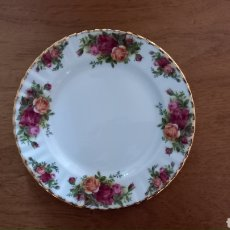 Antiquités: PLATO ROYAL ALBERT OLD COUNTRY ROSES. Lote 287006668