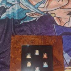 Antiguidades: COLECCIÓN DE 6 BOTONES CHINOS DE PORCELANA. Lote 287008508