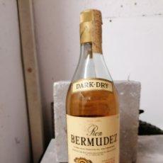 Antigüedades: RON BERMUDEZ EL DORADO 1852. Lote 287037283