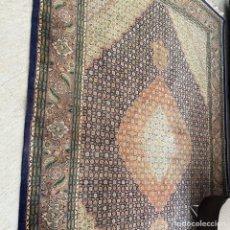 Antigüedades: ALFOMBRA DE TABRIZ 2X3 M DE SEDA Y LANA HECHA A MANO. Lote 287039818