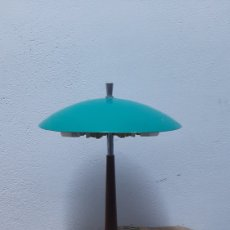 Antigüedades: ANTIGUA LAMPARA INDUSTRIAL 1950/60. Lote 287069798