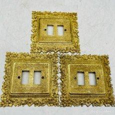 Oggetti Antichi: EMBELLECEDORES DE LATÓN. Lote 287079973