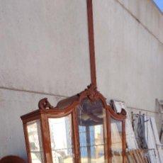 Antigüedades: VITRINA CAOBILLA. Lote 287092698