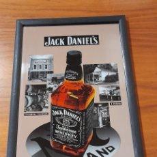 Antiquités: CUADRO ESPEJO PUBLICIDAD DE WHISKY JACK DANIELS. Lote 287094133