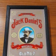 Antiquités: CUADRO ESPEJO PUBLICIDAD DE WHISKY JACK DANIELS. Lote 287094238
