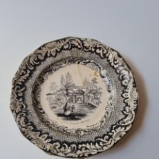 Antiquités: SARGADELOS PLATO VISTA CUBA TERCERA EPOCA S.XIX CEMENTERIO GENERAL HABANA. Lote 287108723