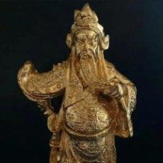 Antigüedades: ESCULTURA ORIENTAL. FUERZA Y LUCHA. Lote 287210718