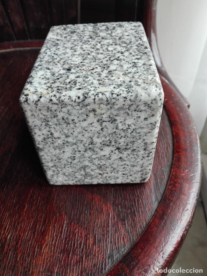 Antigüedades: Peana de granito pulido maciza - Foto 4 - 287266593