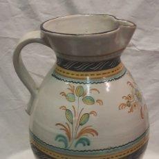 Antigüedades: ENORME JARRON DE TALAVERA FIRMADO RUIZ DE LUNA. Lote 287321298