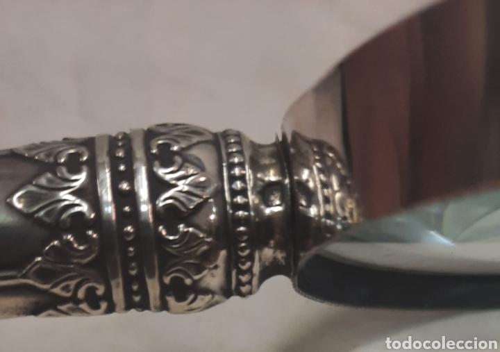 Antigüedades: Antigua lupa del siglo XIX en plata - Foto 7 - 287323073