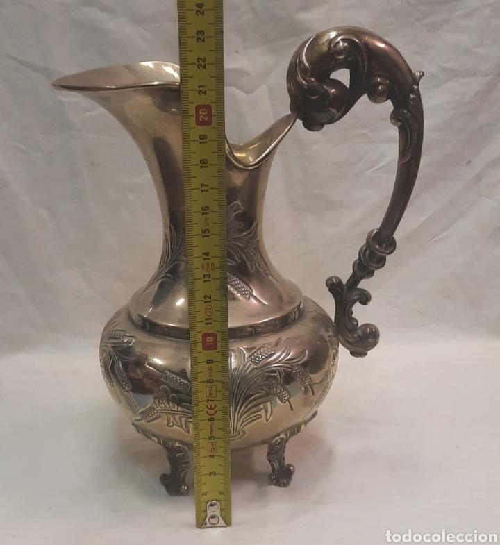 Antigüedades: Antiguo Jarron de plata con contrastes - Foto 2 - 287326968