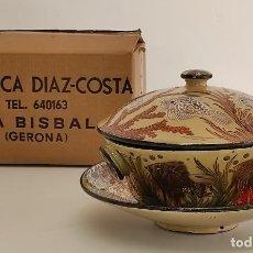 Antigüedades: PRECIOSA SOPERA DEL CERAMISTA CATALÁN - EUSEBIO DÍAZ COSTA (OIX 1908- LA BISBAL D´EMPORDÀ 1964). Lote 287336458