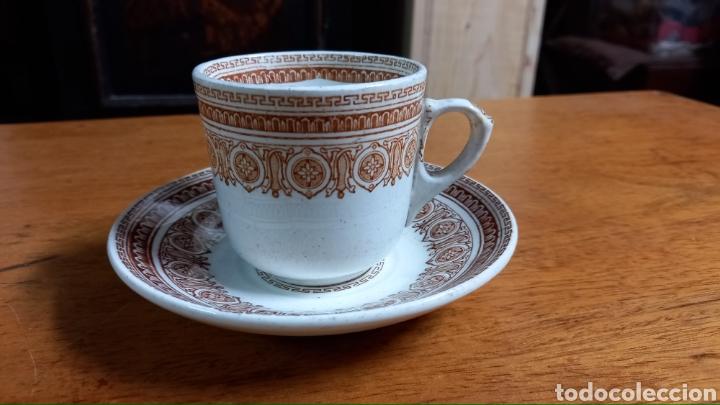 ANTIGUO POCILLO DE PICKMAN (Antigüedades - Porcelanas y Cerámicas - La Cartuja Pickman)