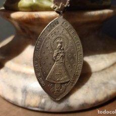 Antigüedades: ANTIGUA MEDALLA DE LA CORTE DE HONOR SEÑORAS A MARIA VIRGEN DEL PILAR - AÑOS 50. Lote 287370208