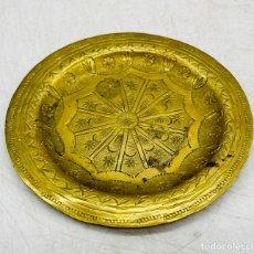 Antiguidades: PLATO DORADO. Lote 287373208