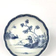 Antigüedades: PEQUEÑO PLATO DE PORCELANA CHINA DEL SIGLO XVIII.. Lote 287378608