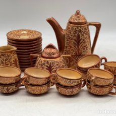 Antiguidades: CONJUNTO DE CAFÉ MANISES. Lote 287403568