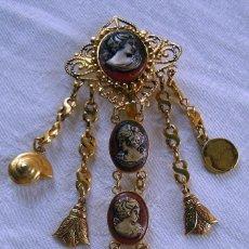 Antiquités: CHATELAINE PORTA ABANICOS. Lote 287405438