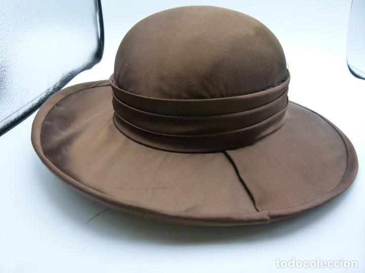 Antigüedades: Sombrero de mujer - Foto 2 - 287452643