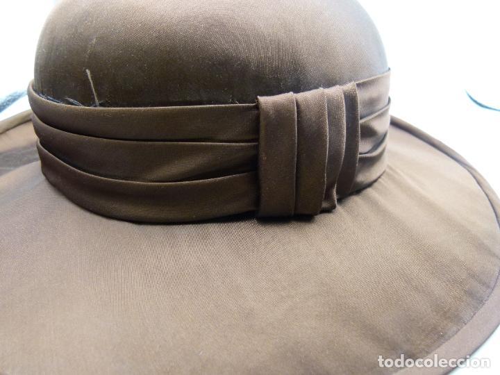 Antigüedades: Sombrero de mujer - Foto 3 - 287452643
