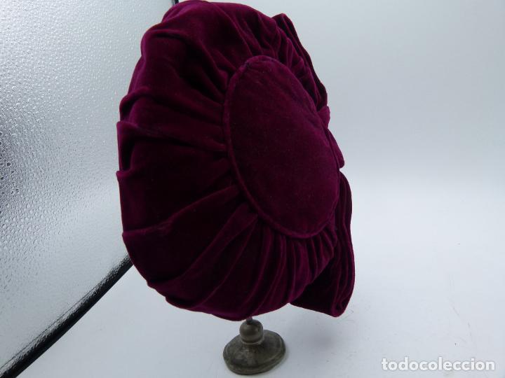 Antigüedades: Sombrero de mujer - Foto 2 - 287454448