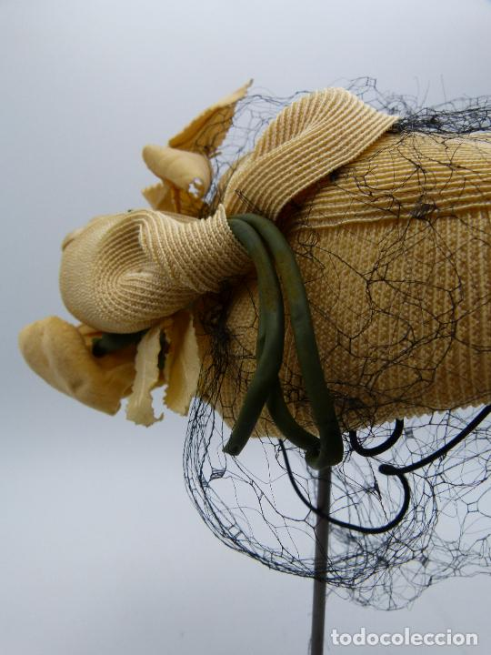 Antigüedades: Sombrero de mujer - Foto 2 - 287454933