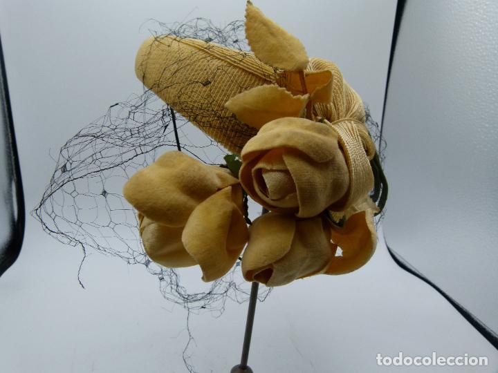 Antigüedades: Sombrero de mujer - Foto 3 - 287454933