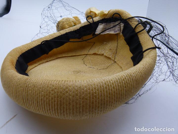 Antigüedades: Sombrero de mujer - Foto 4 - 287454933