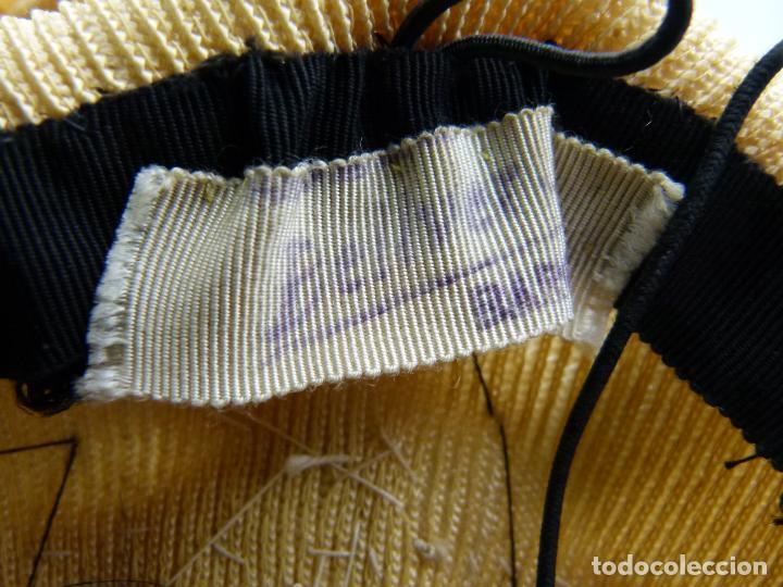 Antigüedades: Sombrero de mujer - Foto 5 - 287454933