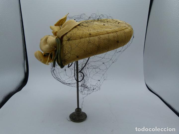SOMBRERO DE MUJER (Antigüedades - Moda - Sombreros Antiguos)