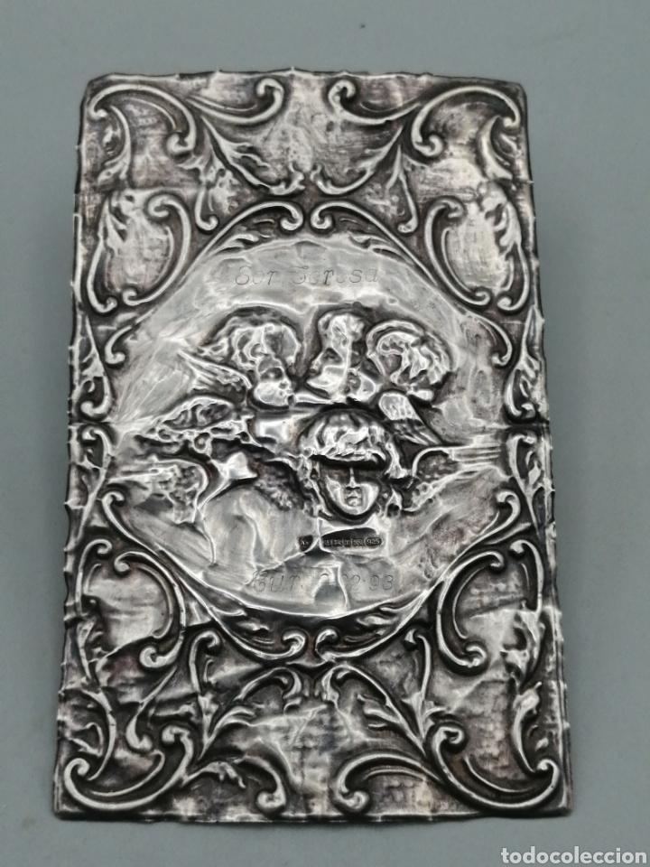 Antigüedades: Querubines. Relieve en plata de ley. Birmingham, Reino Unido - Foto 2 - 287462253