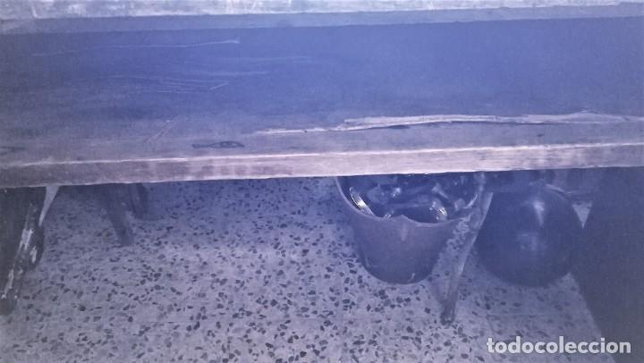 Antigüedades: MESA DE ROBLE - Foto 4 - 287466573