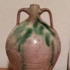 Antigüedades: CANTARO DE ACEITE ALFARERIA EXTINGUIDA FAJALAUZA ( GRANADA ANDALUCÍA). Lote 287544233