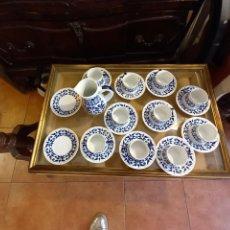 Antigüedades: JUEGO DE CAFÉ DE SARGADELOS. Lote 287591778