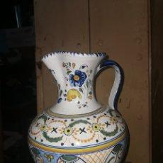 Antigüedades: ALCUZA GRAN TAMAÑO DE CERÁMICA DE TALAVERA. Lote 287624508