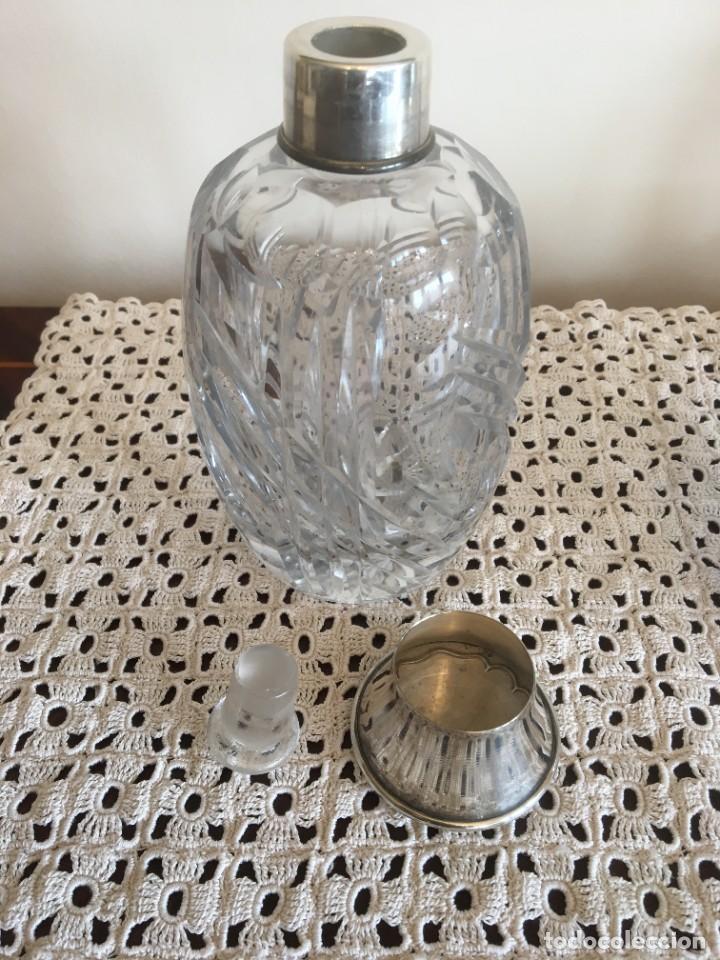 Antigüedades: Juego frascos de tocador cristal de roca tallados - Foto 4 - 287657873