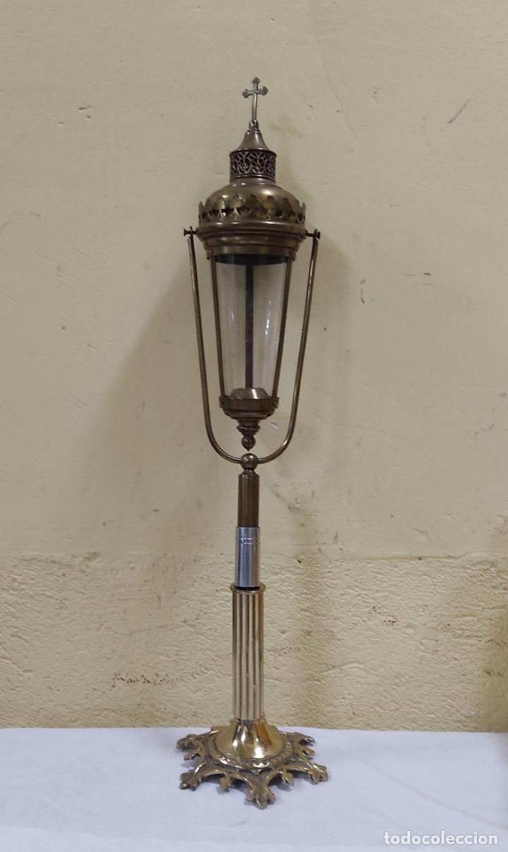 LAMPARA DE IGLESIA (5133/21) (Antigüedades - Religiosas - Ornamentos Antiguos)