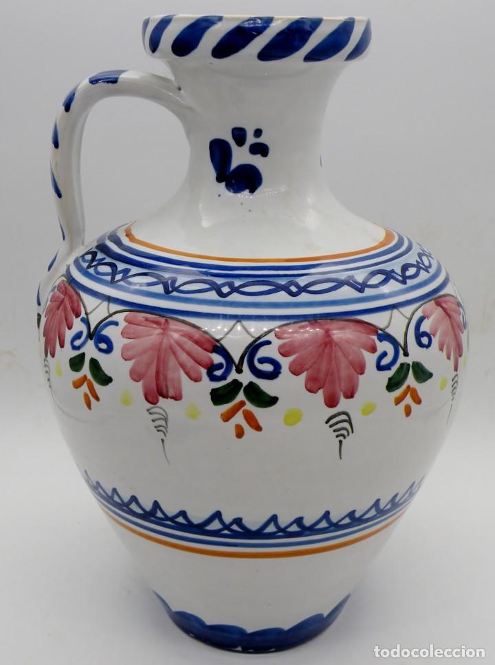 GRAN JARRA-CÁNTARO ANTIGUA DE CERÁMICA PUENTE DEL ARZOBISPO. FIRMADA. NUEVA (Antigüedades - Porcelanas y Cerámicas - Puente del Arzobispo )