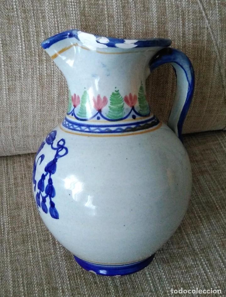 Antigüedades: JARRA DE CERAMICA CON ESCUDO MONASTERIO DE YUSTE - Foto 3 - 287729388