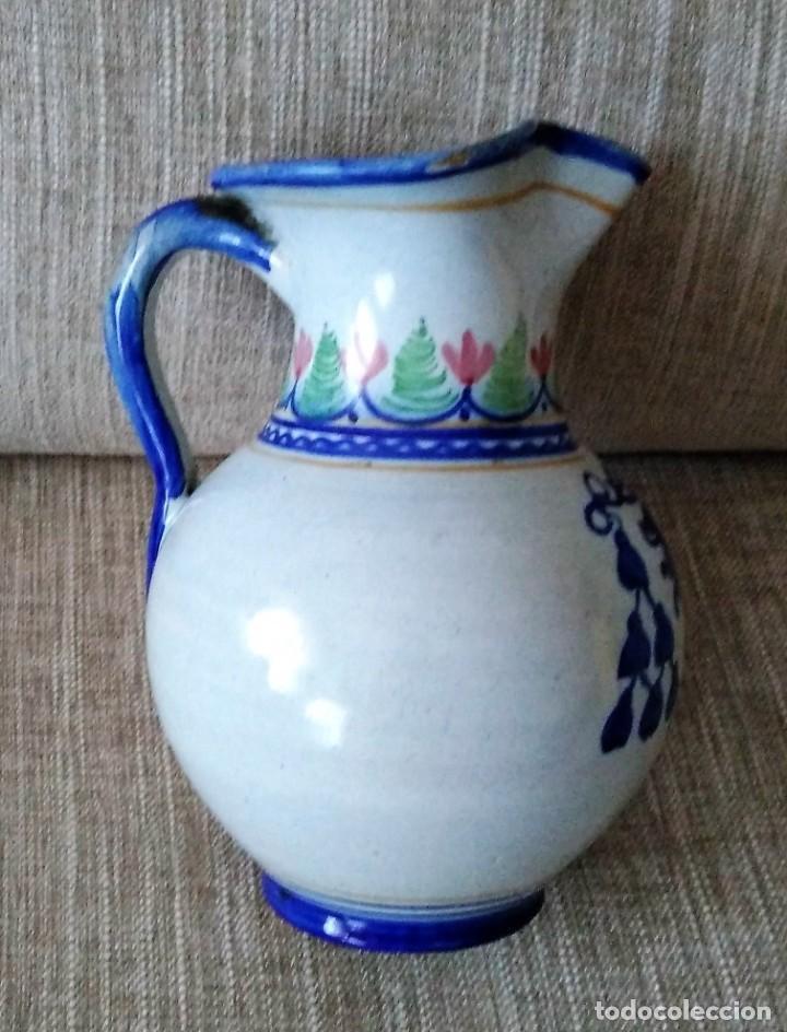 Antigüedades: JARRA DE CERAMICA CON ESCUDO MONASTERIO DE YUSTE - Foto 6 - 287729388