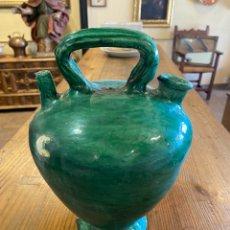 Antiquités: CÀNTIR EN CERAMICA POPULAR CATALANA, EL VENDRELL, S XIX. Lote 287733293