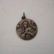 Antiquités: MEDALLA VIRGEN MARIA - PLATA 925. Lote 287734528