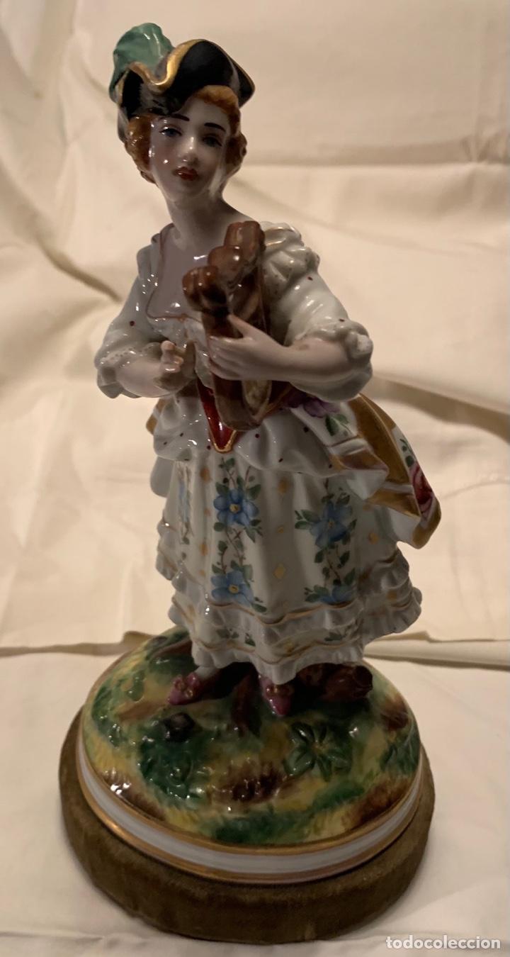 PORCELANA ANTIGUA (ARPA) (Antigüedades - Porcelana y Cerámica - Francesa - Limoges)