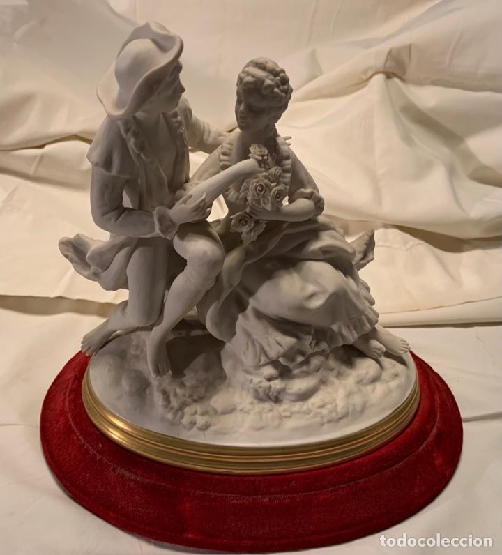 PORCELANA ANTIGUA BLANCA (Antigüedades - Porcelana y Cerámica - Alemana - Meissen)