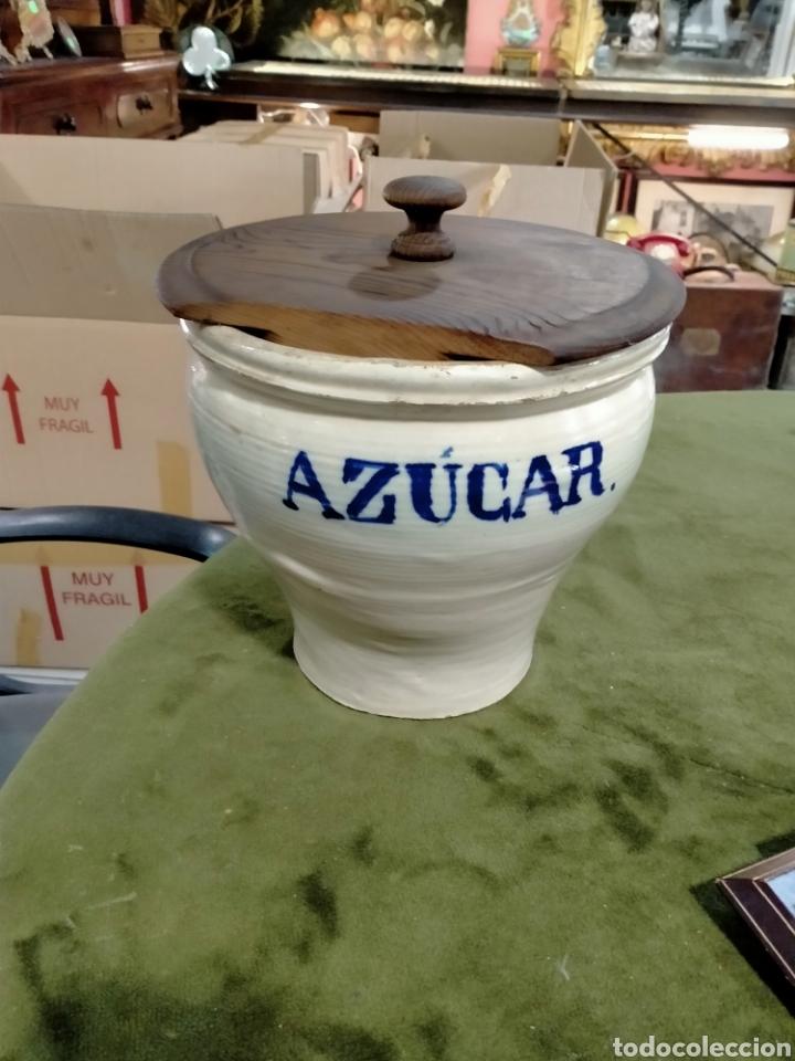 CERAMICA POPULAR ,TARRO DE COCINA REF-9903 (Antigüedades - Porcelanas y Cerámicas - Otras)