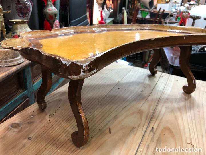 MESA COMEDOR DE MADERA ABATIBLE - MEDIDA 65X42X23 CM (Antigüedades - Muebles Antiguos - Mesas Antiguas)