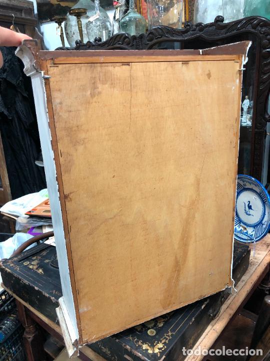 Antigüedades: PRECIOSA VITRINA DE COLGAR IDEAL PARA MINIATURAS - MEDIDA TOTAL 60X44X15,5 CM - Foto 14 - 287781073