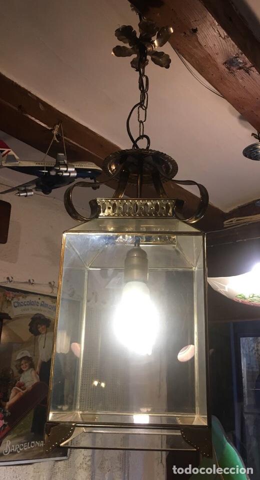 Antigüedades: Farol tipo convento - Foto 2 - 287793228