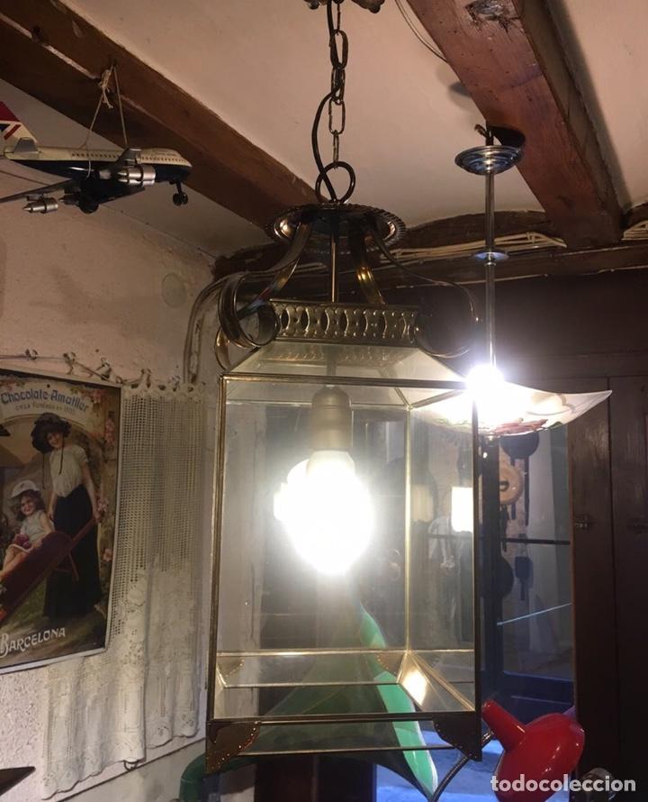 Antigüedades: Farol tipo convento - Foto 3 - 287793228